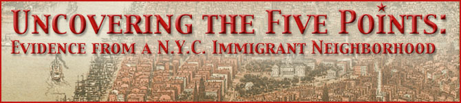 Uncovering the Five Points: Evidence From a NYC Immigrant Neighborhood